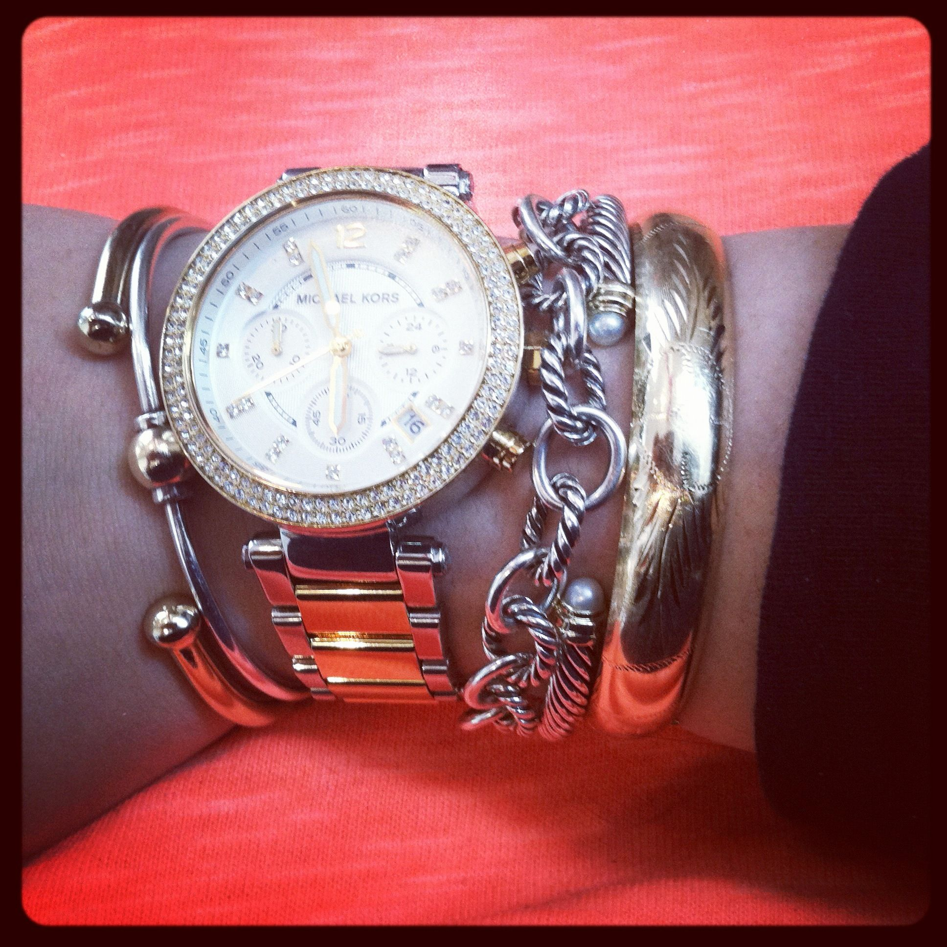 Love all the bracelets