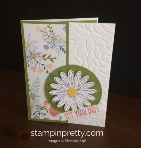 Celebrate The Return Of The Daisy Punch Stampin Up Cards 2017 2018