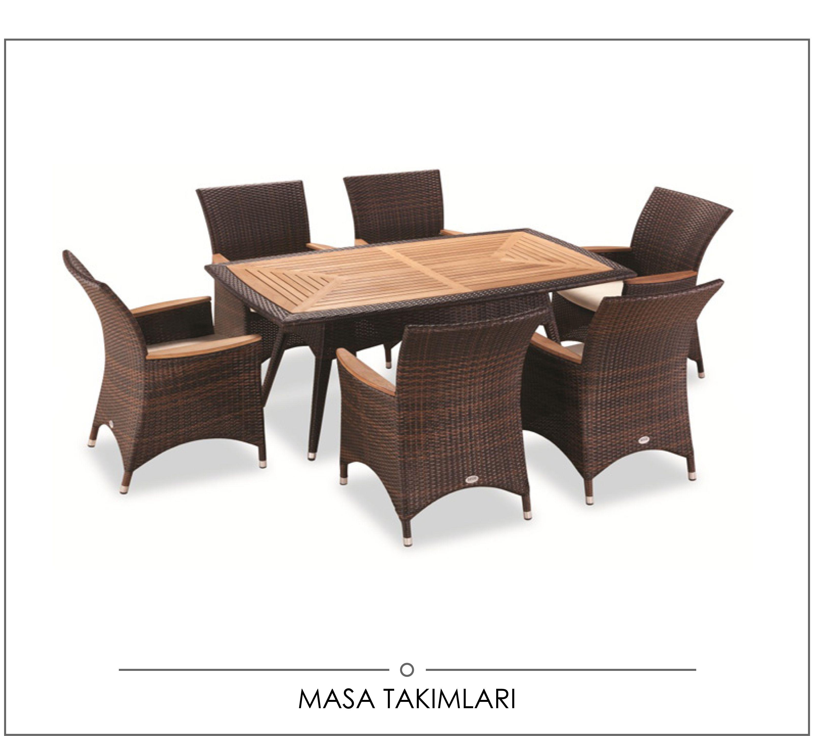 Masa Takımı Bah§e Mobilyası