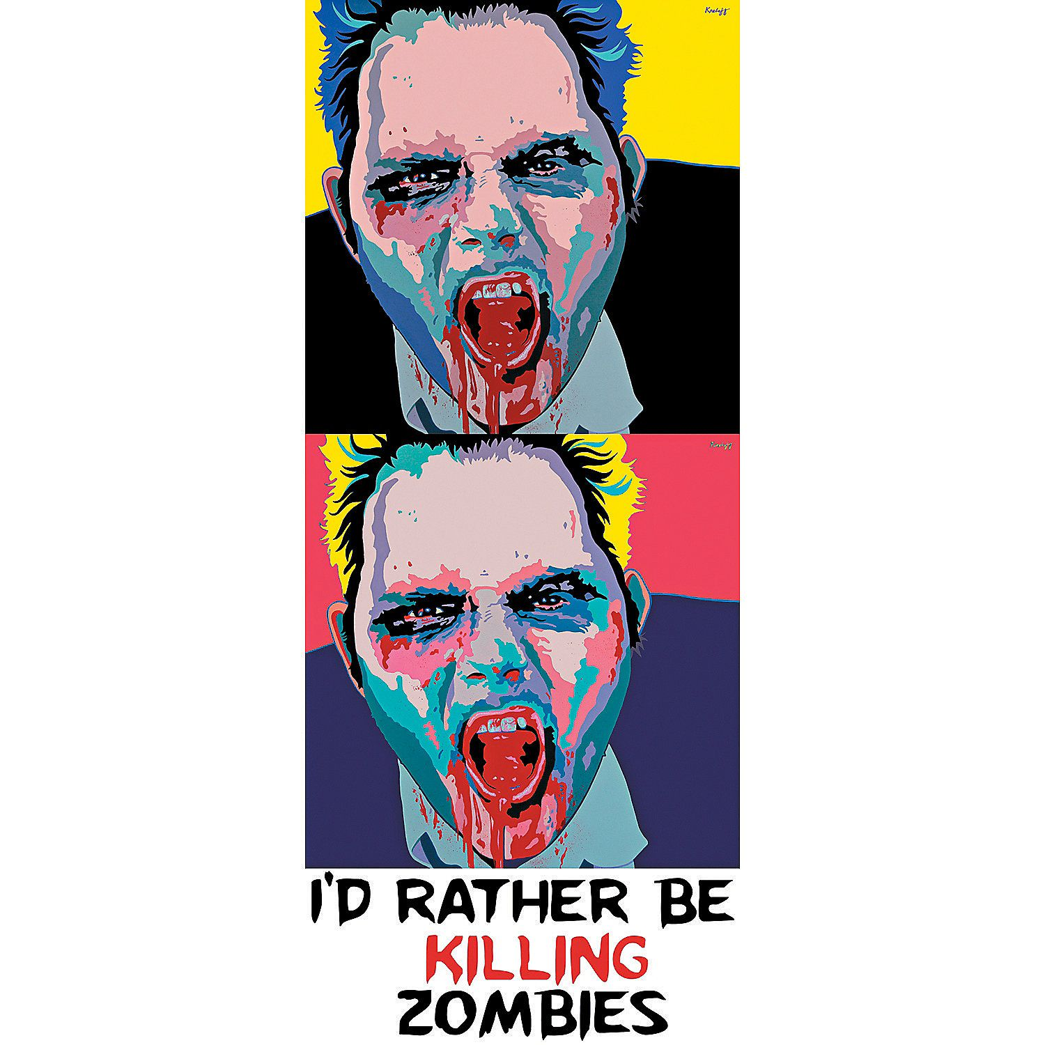 Zombie - 2 Up 17 x 41 Wall Jammer™ - OrientalTrading.com