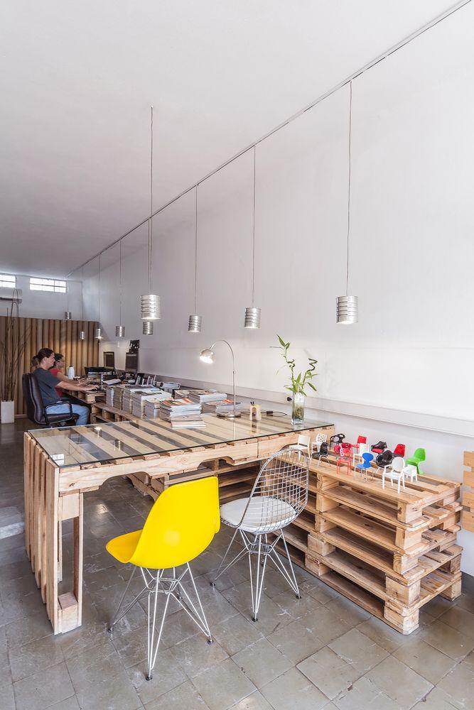 office desk europalets endsdiy. Galería De Estudio Arquitectura / José Schreiber + M. Laura Gonzalez - 2. Interior DesignPallet Furniture OfficeOffice Office Desk Europalets Endsdiy C