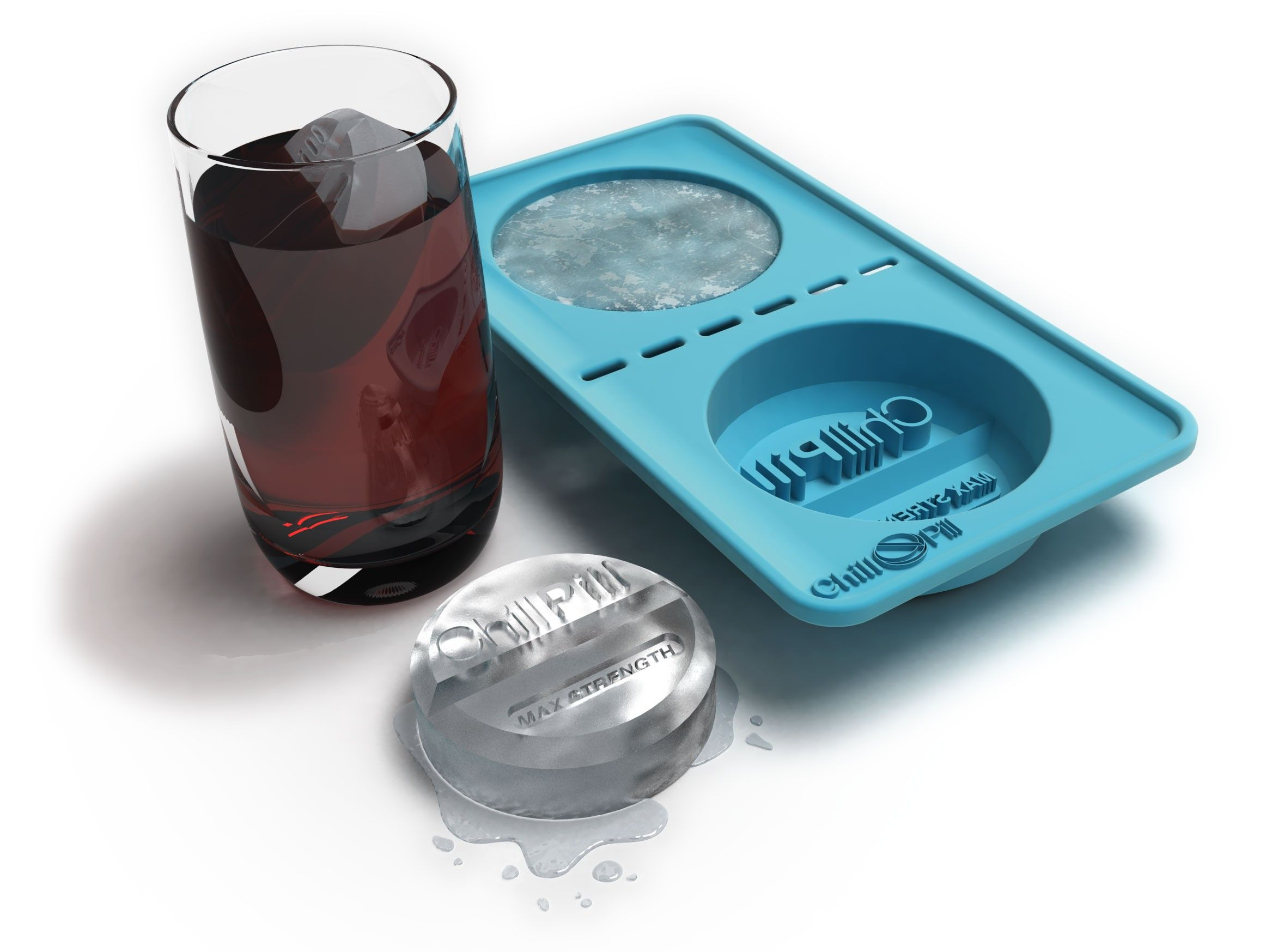 Chill Pill Giant Ice Cube Tray Only 163 5 Ice Cube