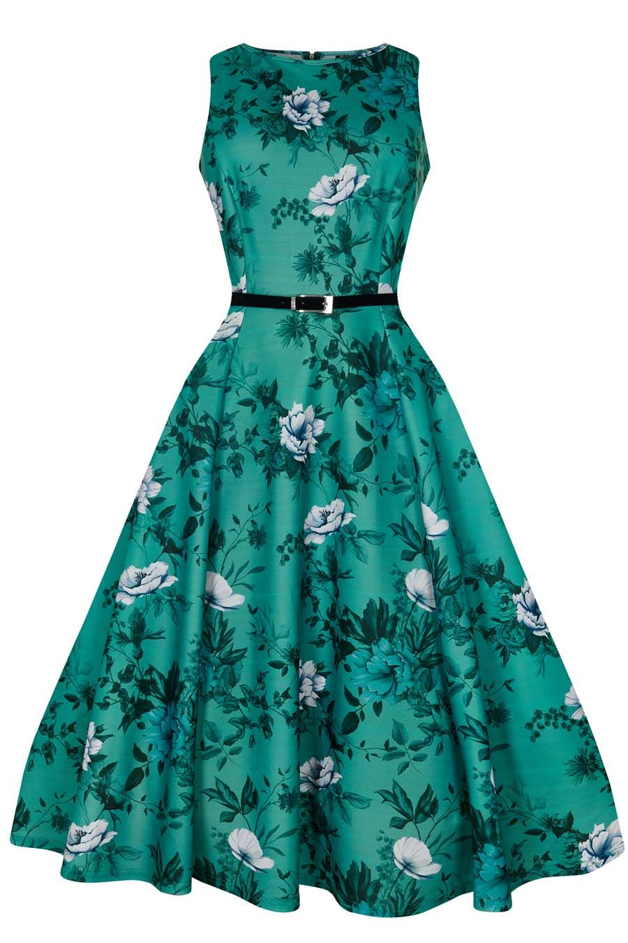 Hepburn - Wild Roses On Teal | Teal, Rose and Stylish