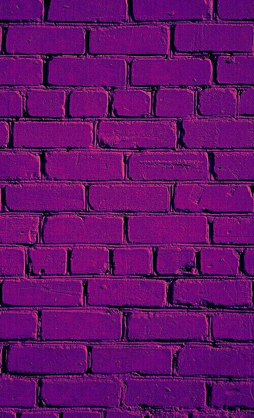 Purple pretty pictures pinterest wallpaper prints for Purple brick wallpaper