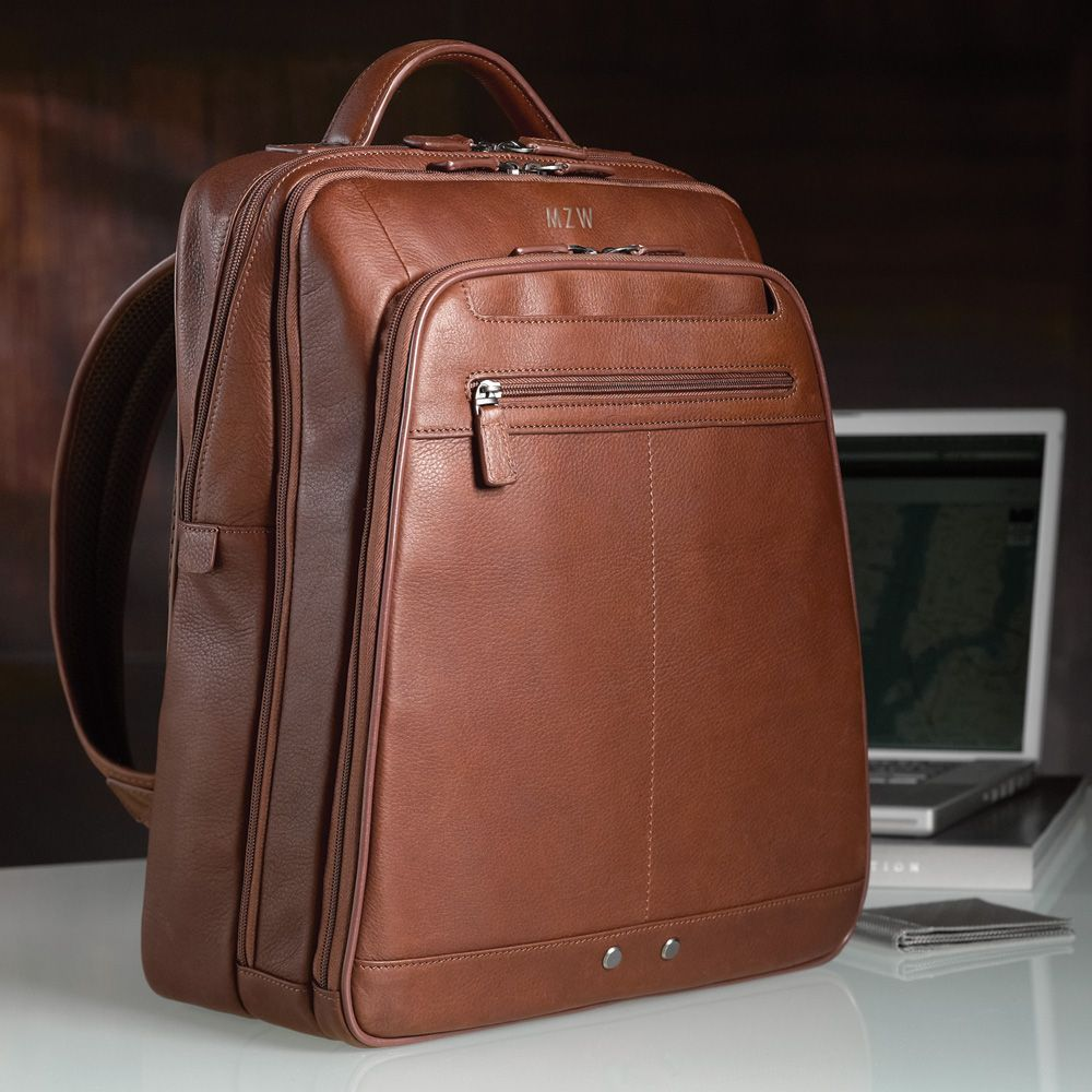 898abe11ba Mosaic Leather Laptop Backpack More. Mosaic Leather Laptop Backpack More  Mens Leather Laptop Bag ...