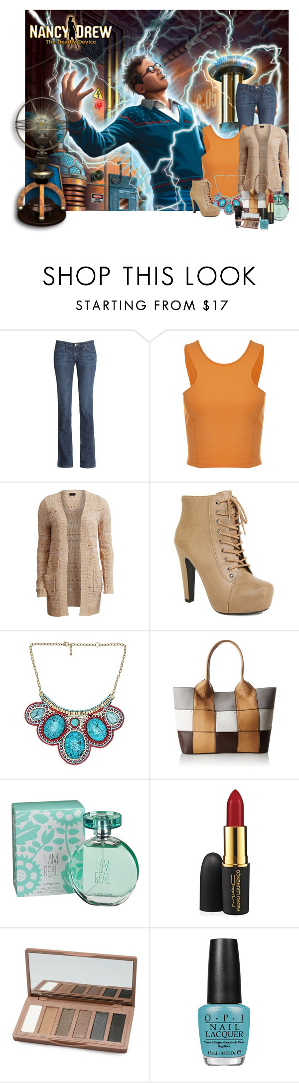 """""""Birthday Set Top 10 No; 9 ND Inspired"""" by stephaniefb ❤ liked on Polyvore featuring VILA, Raga, Oryany Handbags, maurices, MAC Cosmetics, OPI, Becca and nancydrew"""