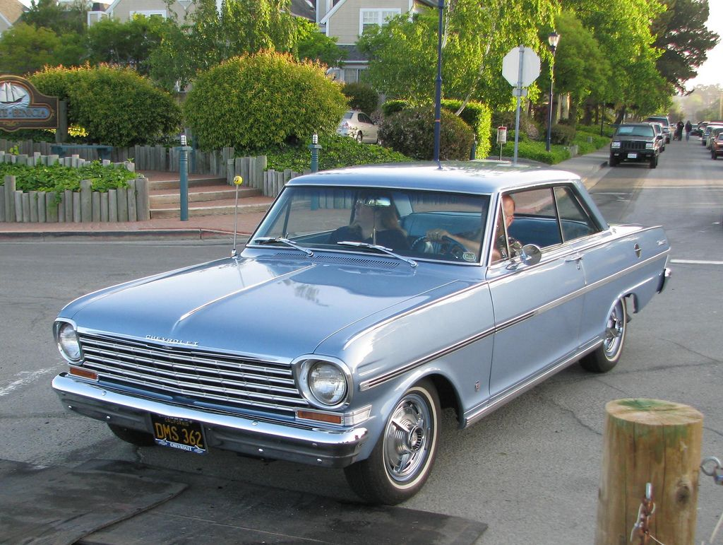 1963 Chevy Nova 1963 Chevrolet Nova 2 Door Hardtop Dms 362 1