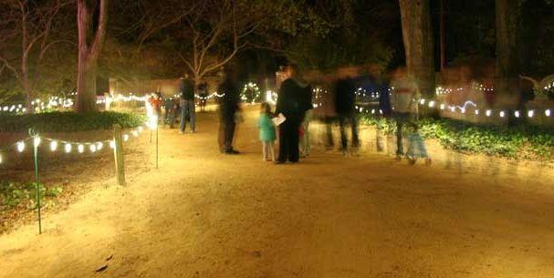Hopeland Gardens Christmas Lights.Christmas In Hopelands 2012 City Of Aiken Sc Government