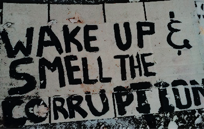The City Reeks Of Bribes And Lies Words Revolution Anarchy