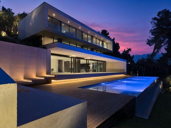 Impresionante Villa vanguardista con fantásticas vistas al