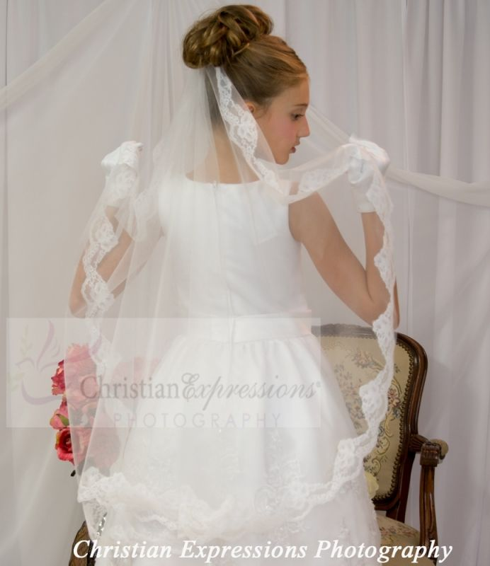 2016 couture first communion veils - Bing images