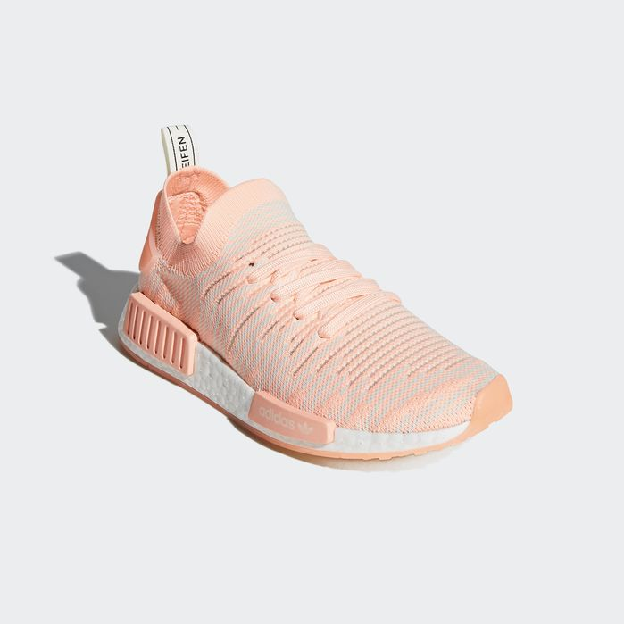 NMD_R1 STLT Primeknit Shoes Orange 6 Womens | Products | Nmd