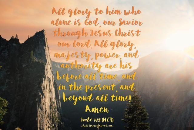 Jude 1:24-25 Is a New Testament Prayer of Praise