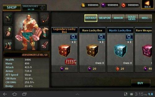 dark avenger 1.3 4 mod apk
