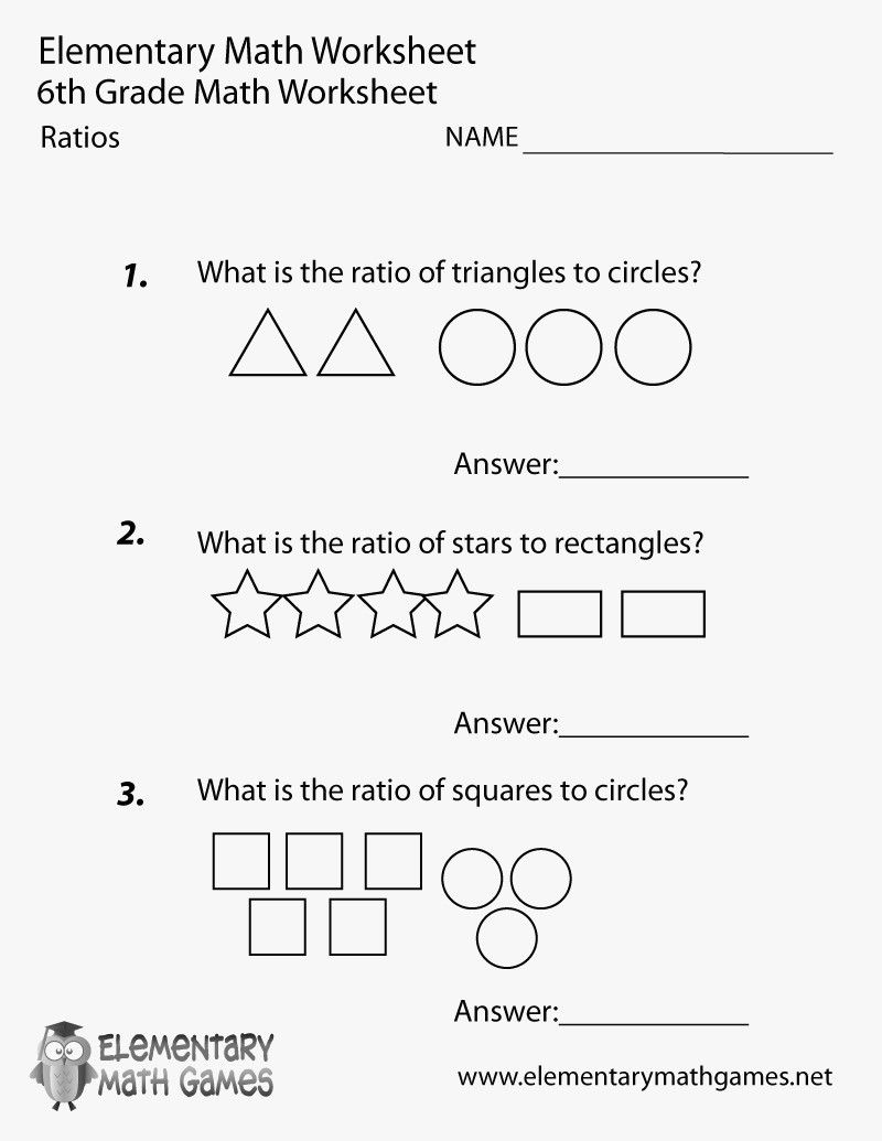 41 Simple Ratio Worksheets Design   S     Bacamajalah