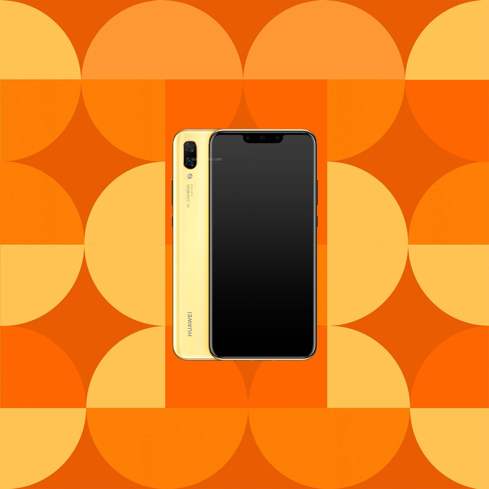 Huawei nova 3 Screen Specifications •
