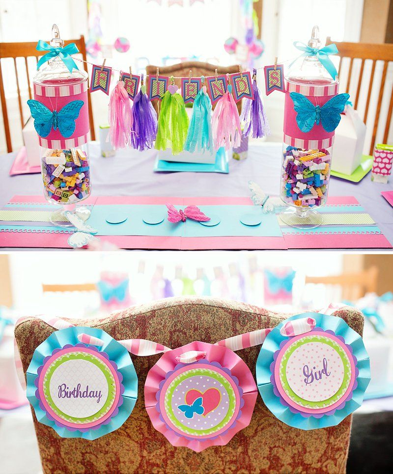 A Charming & GIRLY Lego Friends Birthday Party | Lego friends ...