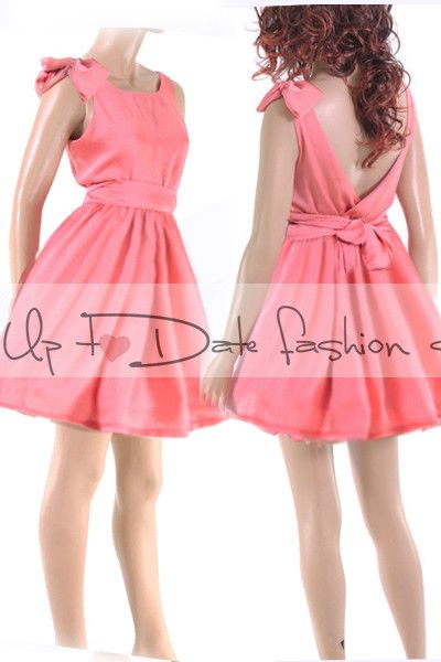 Coral+Satin+evening+dress,plus+size+dress+from+Up+to+date++by+DaWanda.com