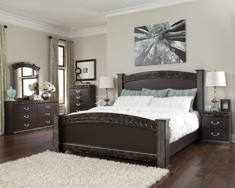 Vachel King Bedroom Group By Signature Design By Ashley Bedroom Sets Furniture Queen Bedroom Furniture Sets Bedroom Set