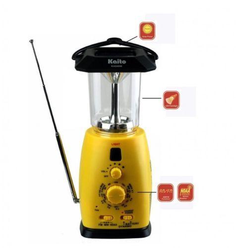 LED-Camping-Lantern-Radio-Solar-Powered-Charger-Multi ...