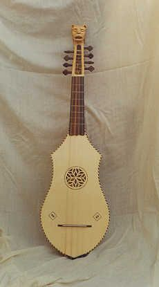 "Bandurria - plucked chordophone from Spain, similar to the mandolin,  Juan Ruiz first mentioned the term ""mandurria"" in the 14th century in his ""Libro De Buen Amor."" [5] After that, Juan Bermudo gave the description of the bandurria in his ""Comiença el libro llamado declaraciõ de instrumentos"" as a three-string instrument in 1555, but he also mentioned other types with four or even five strings."