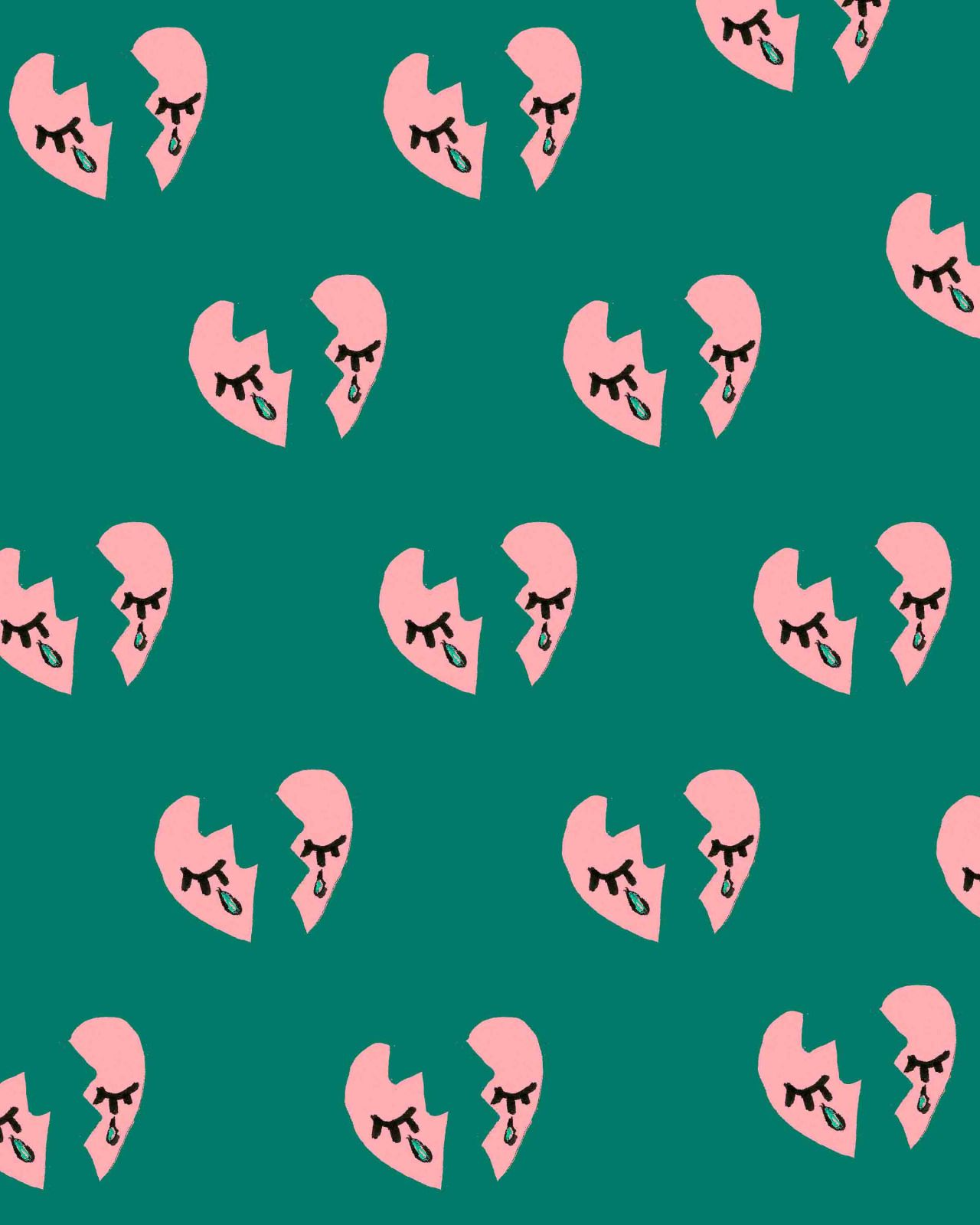 BOUFFANTS & BROKEN HEARTS Cute wallpapers, Broken heart