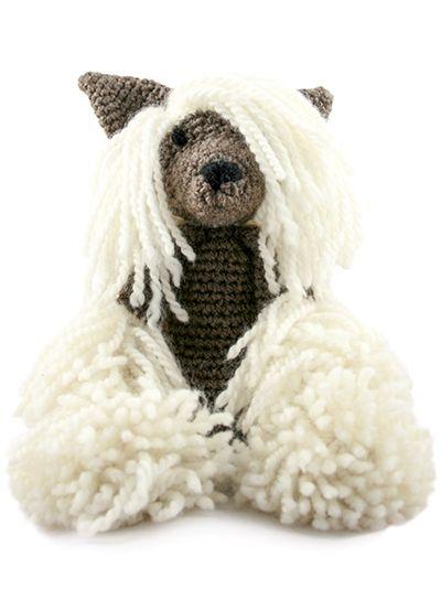 TOFT Amigurumi Crochet Large Chinese Crested kit | amigurumi kutyák ...