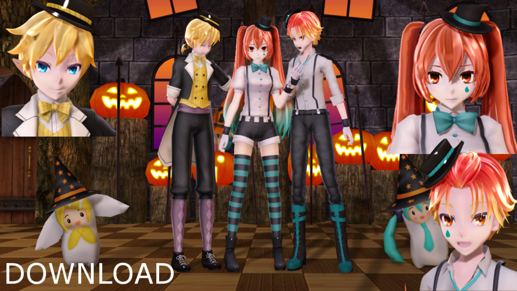 Mmd Halloween Stage Dl 2020 Pin on а