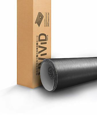 Vvivid Xpo Gray Brushed Aluminum Vinyl Car Wrap Decal