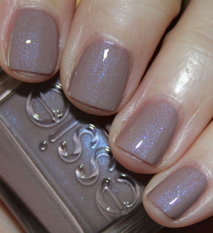 Essie Comfy In Cashmere with Top Coat | Nail Polish Wishlist ...