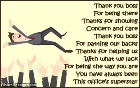 Thank You Quotes For Boss office hoe translation: Thank you boss for visiting me Thanks for  Thank You Quotes For Boss