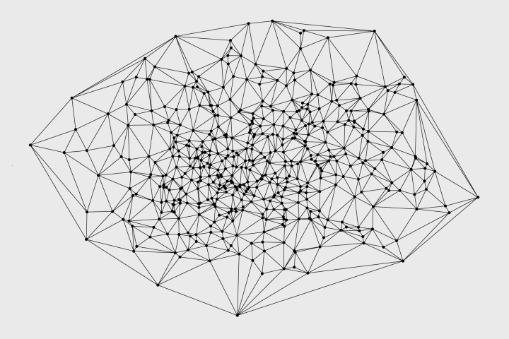 voronoi diagram and delaunay triangulation in r by nathan
