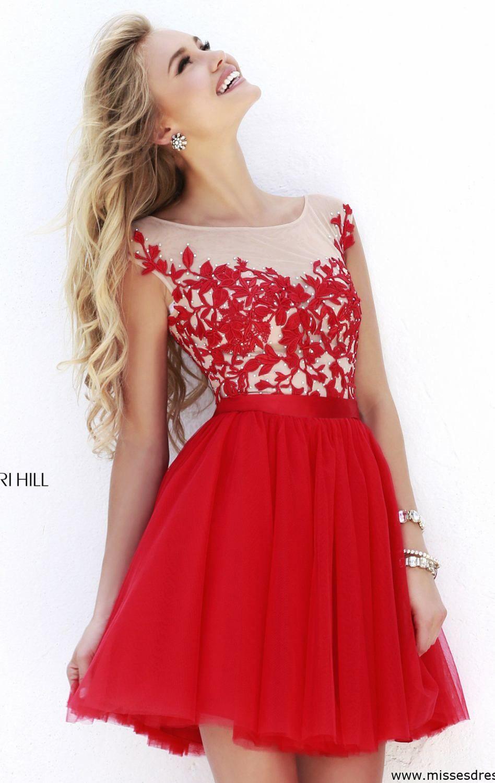hermoso | Vestido | Pinterest | Abikleid, Abendkleider und Rot