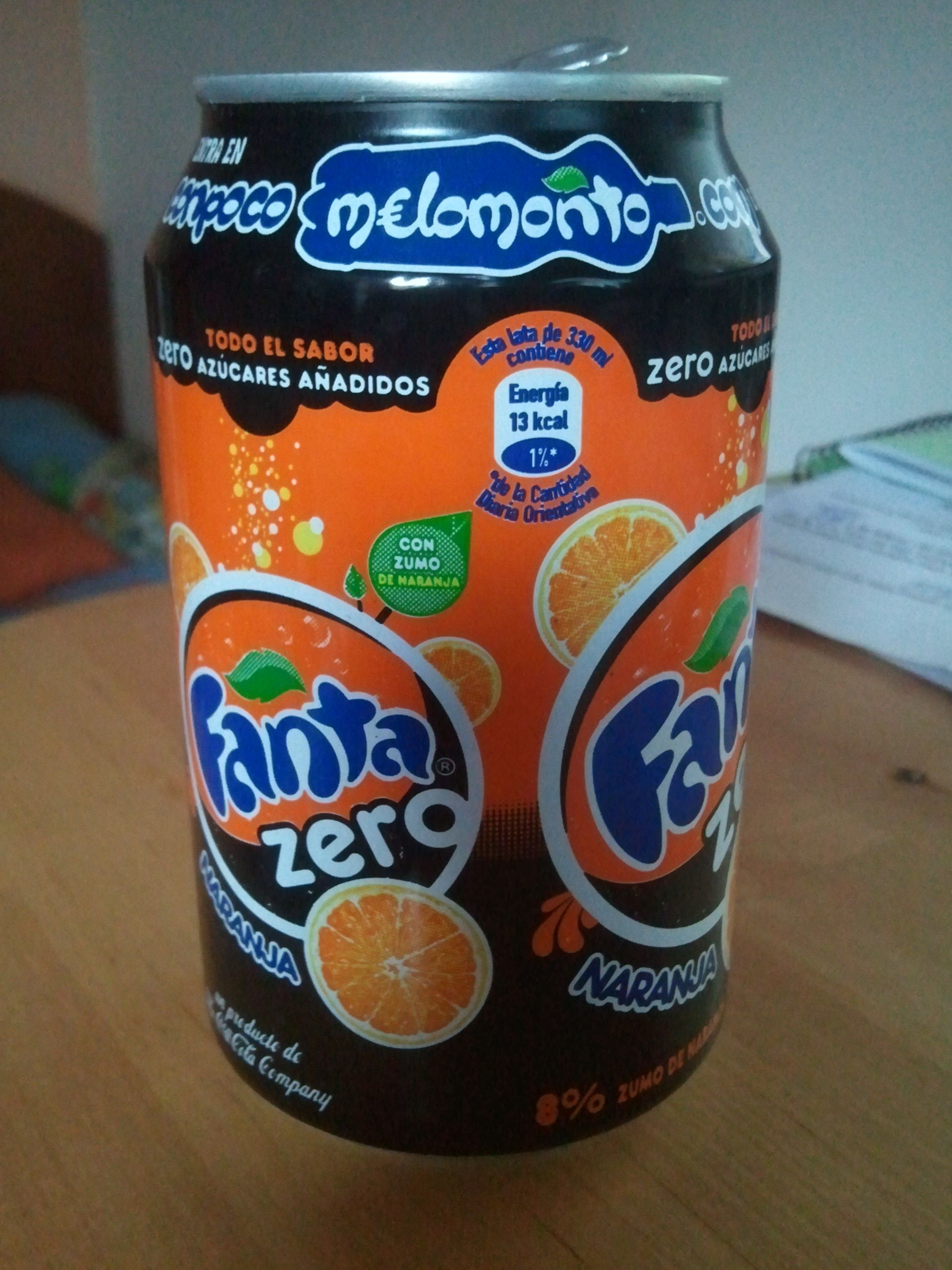 "Spanish Orange Zero Fanta ""melomonto"""