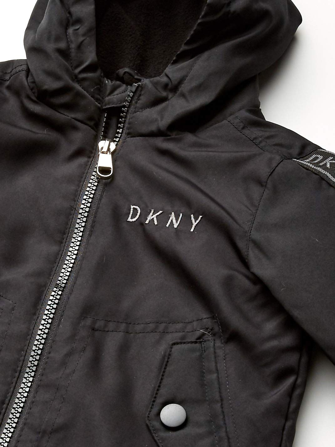 Dkny Baby Boys Fashion Outerwear Jacket Logo Sleeves Black 24m You Can Obtain More Information By Clickin Outerwear Fashion Boy Fashion Outerwear Jackets [ 1427 x 1070 Pixel ]