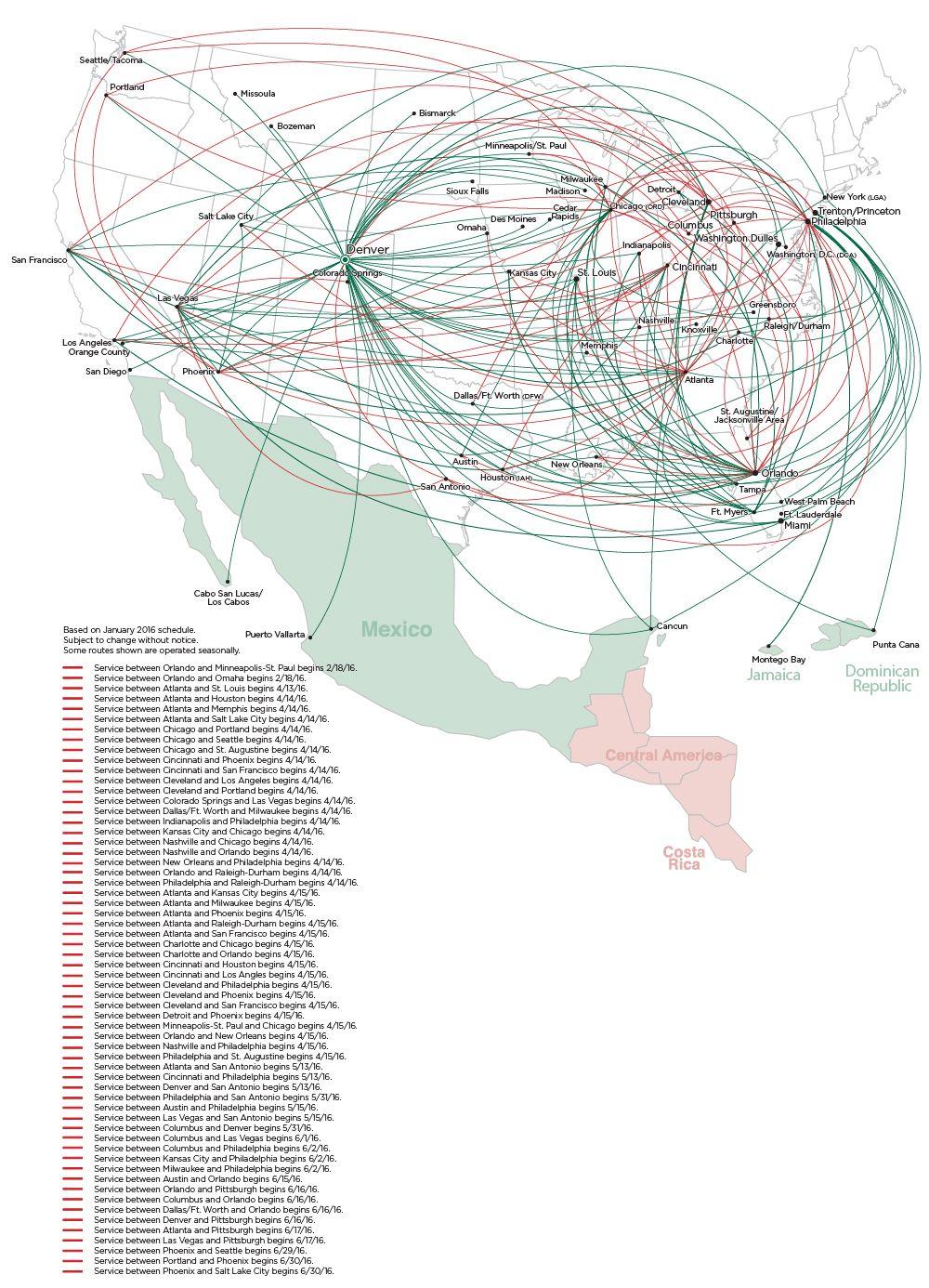 frontier route map | frontier flights | pinterest | map, flight map