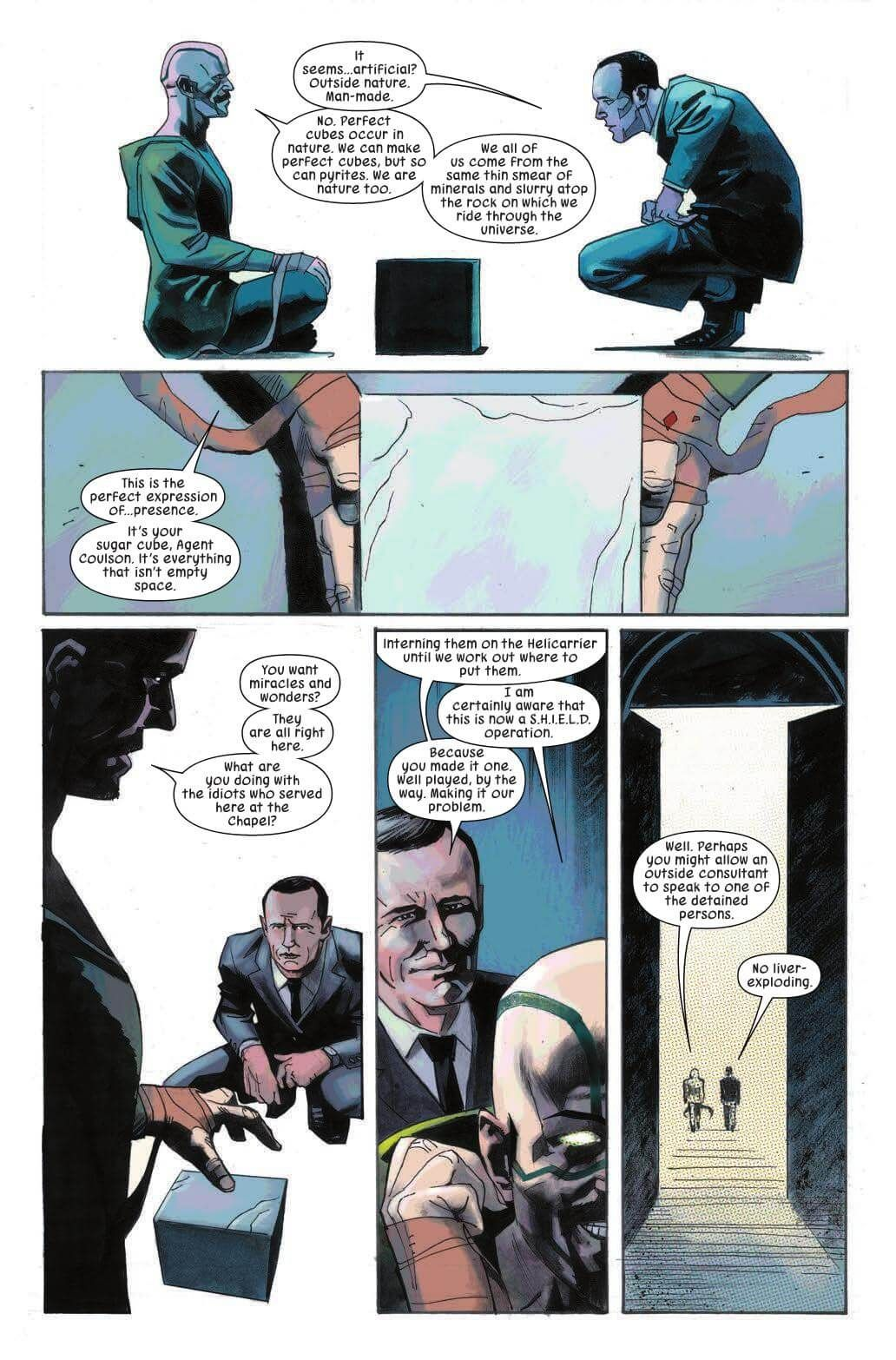 Preview Karnak 5 Story Warren Ellis Art Gerardo