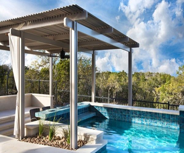 Pergola Over the Pool A Wonderful Choice | Pergola Gazebos (shared via  SlingPic) - Pergola Over The Pool A Wonderful Choice Pergola / Gazebo Design