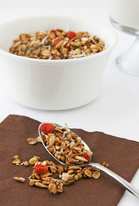 buckwheat goji granola2