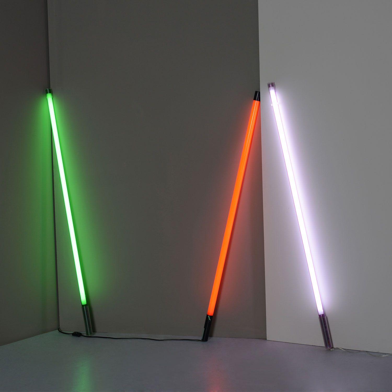 Seletti Coloured Fluorescent Tube Light Floor Lamps Lamps Lighting Heal S In 2020 Wandlamp