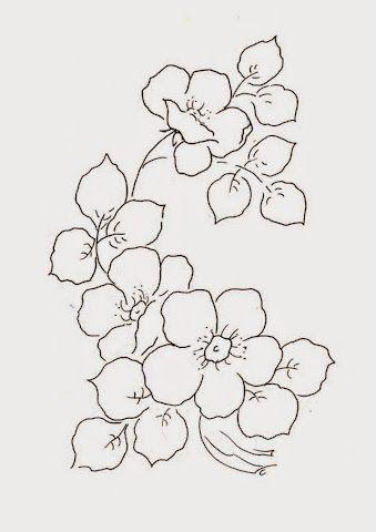Flores Silvestres Para Pintar Disenos Blanco Y Negro