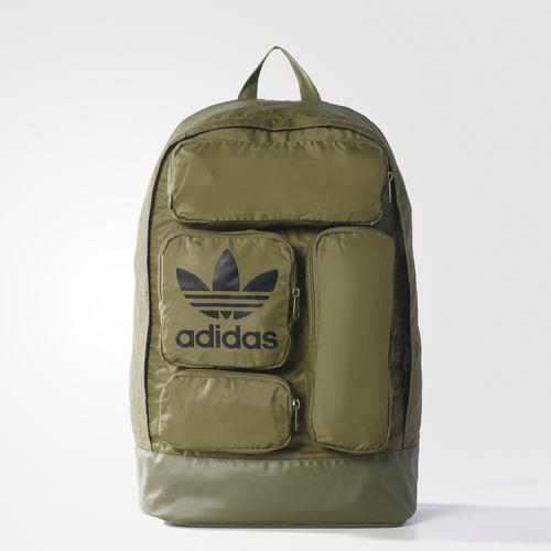 Pockets Backpack - Green