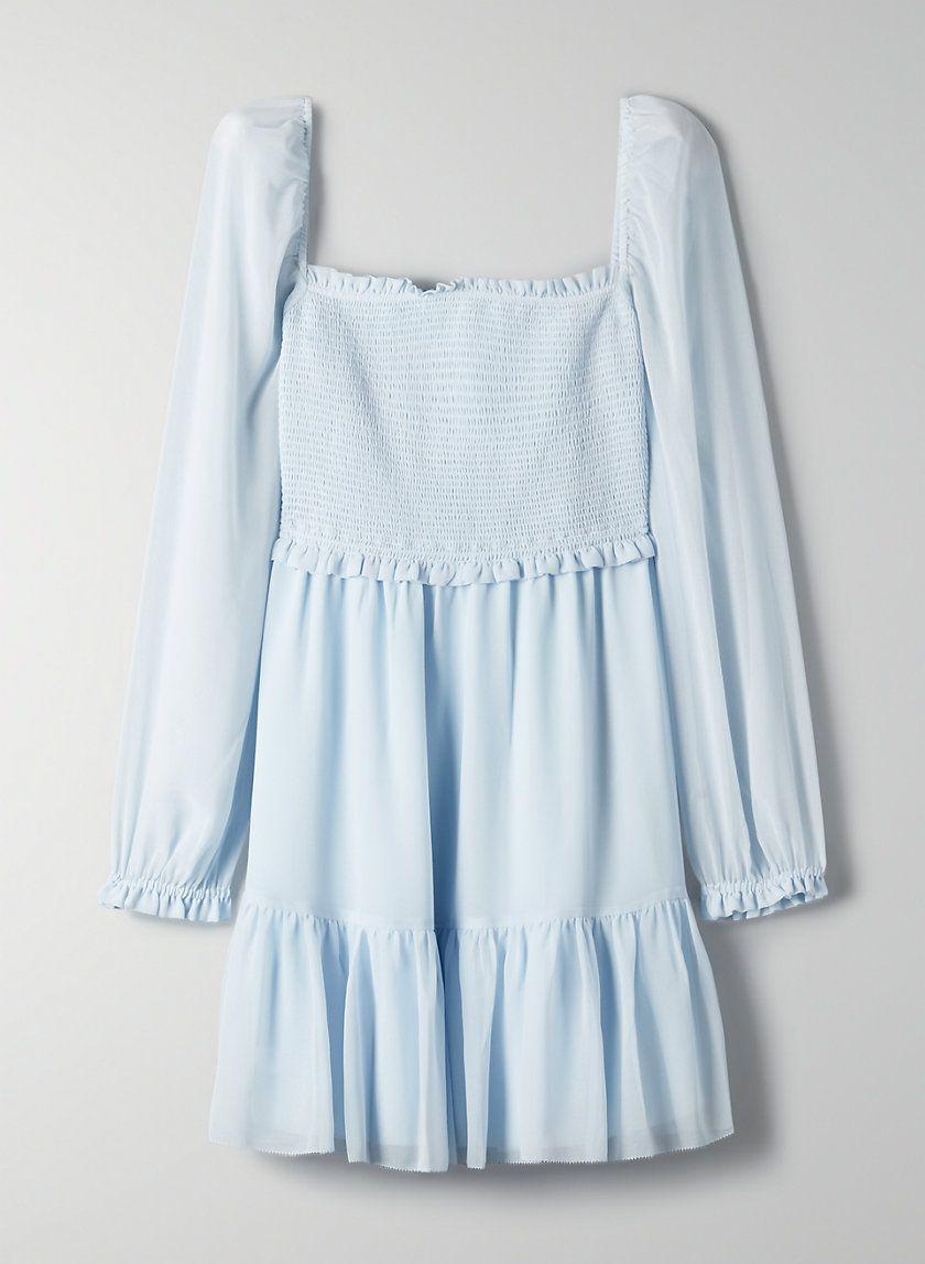 Tempest Dress Mini Dress With Sleeves Chiffon Mini Dress Chiffon Long Sleeve [ 1147 x 840 Pixel ]