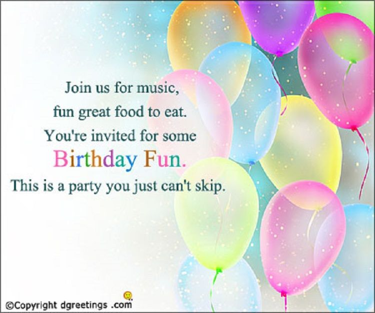 Happy Birthday Invitation Card With Name To Write