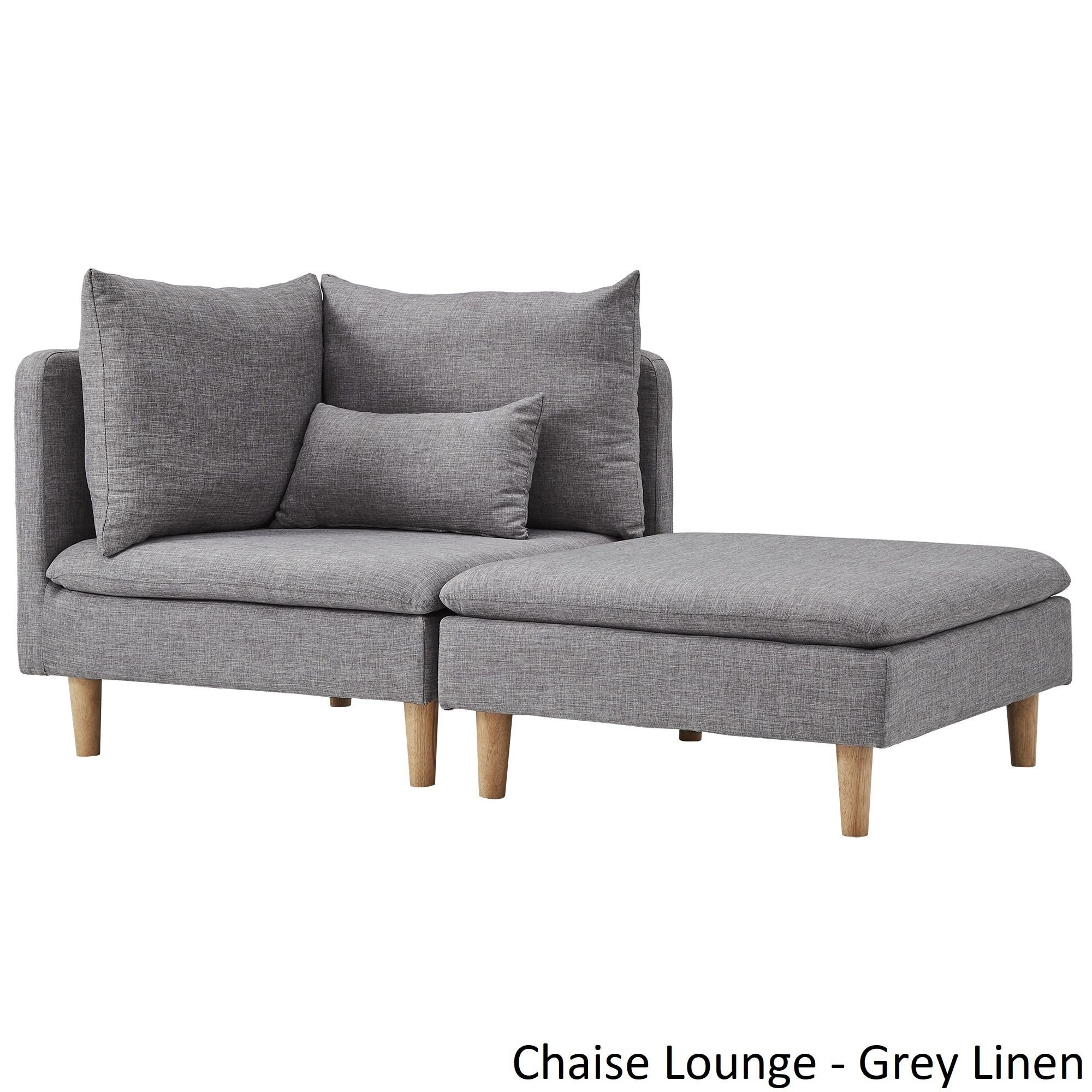 Malina Modular Mid-Century Chaise Lounges by iNSPIRE Q Modern ...