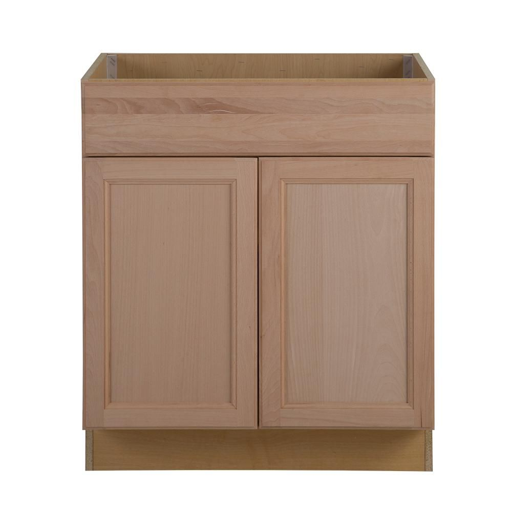 Easthaven Assembled 30x34 5x24 In Frameless Sink Base Cabinet