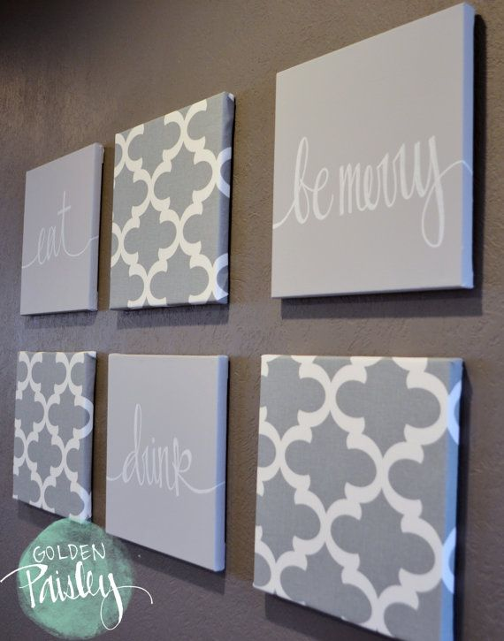 Eat Drink Be Merry Wall Art Pack Of 6 Canvas Wall Hanging Gray Dining Room Wall Decor Kitchen Wall Art Custom Canvas Painting Set Home Decor Eat Drink Be Merry Wall Art Pack of 6 Canvas Wall Hanging Gray Dining Room Wall Decor Kitchen Wall Art Custom Canvas Painting Set Home Decor Dining Room Decor wine wall art decorating dining room