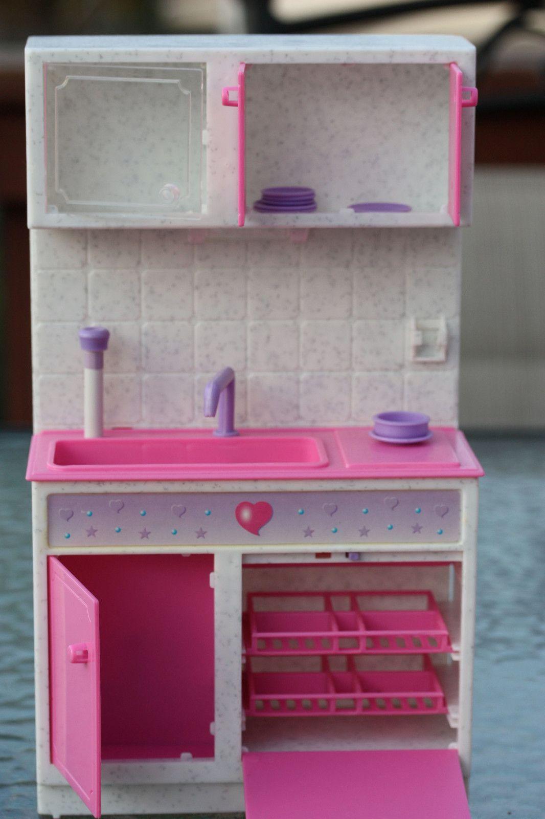 Barbie Kitchen Set With Accessories Ebay Vintage Barbie