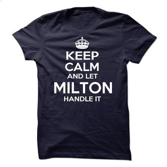 Milton - #tshirt no sew #cardigan sweater. ORDER HERE => https://www.sunfrog.com/Names/Milton-59861801-Guys.html?68278