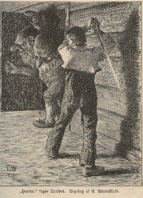 Bibliodyssey Scandinavian Trolls Dark Art Illustrations Dark Fantasy Art Mythical Creatures